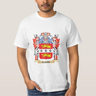 Elkins Coat of Arms - Family Crest T-Shirt