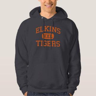 Elkins - Tigers - High - Elkins West Virginia Hoodie