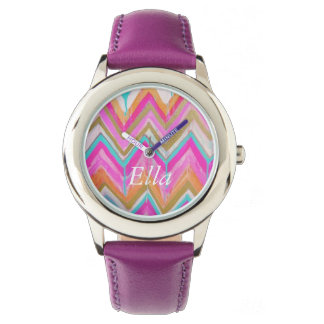 Ella Chevron Watch