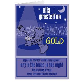 Ella Grosteffon Birth Announcement