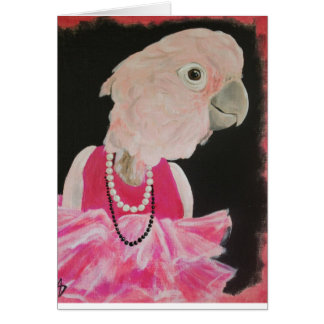Ella Pretty in Pink note card