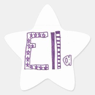 Ella Sticker