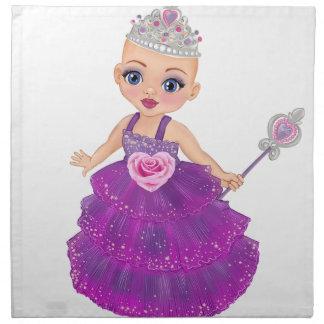 Ella The Enchanted Princess Who Are You? Napkin