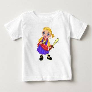 Ella The Enchanted Princess Who Are You? Pirate Baby T-Shirt