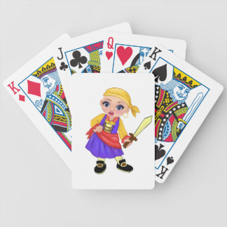 Ella The Enchanted Princess Who Are You? Pirate Bicycle Playing Cards