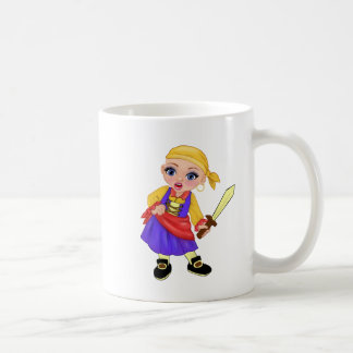 Ella The Enchanted Princess Who Are You? Pirate Coffee Mug