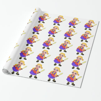 Ella The Enchanted Princess Who Are You? Pirate Wrapping Paper