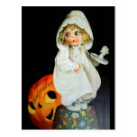 Ellen H. Clapsaddle: Little Girl with Candle Postcard