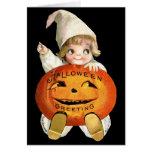 Ellen H. Clapsaddle: Little Pumpkin Boy Greeting Cards