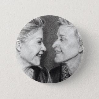Ellen & Portia Degeneres Button