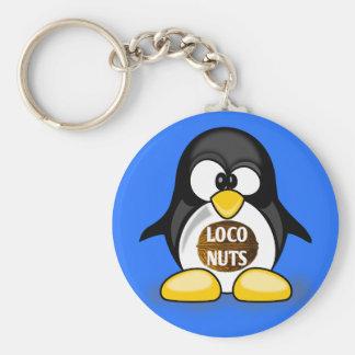 Ellen the Loco Nuts Penguin Keychain