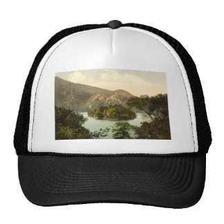 Ellen's Isle, Loch Katrine, Trossachs, Scotland Trucker Hat