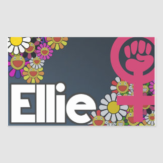 Ellie - Sheet of 4… Sticker