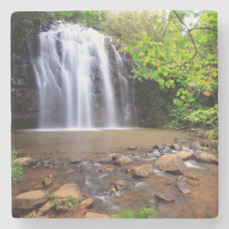 Ellinjaa waterfall, Australia Stone Coaster