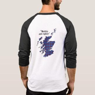 Elliot Clan Badge Adult Raglan T-Shirt