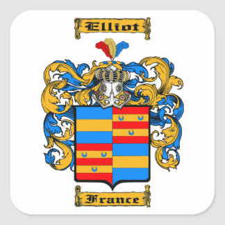 Elliot (France) Square Sticker