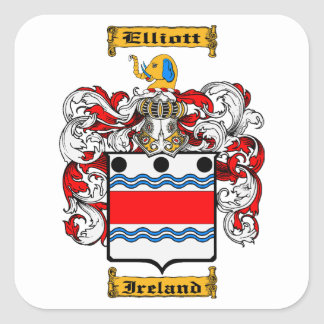 Elliot (Ireland) Square Sticker