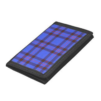 Elliot (modern) Tartan Tri-fold Wallet