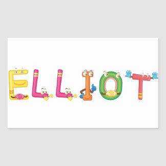 Elliot Sticker