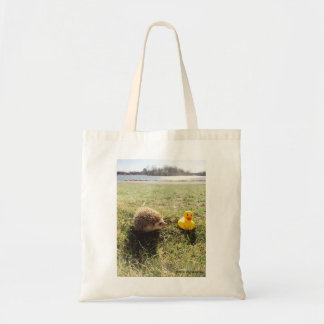 elliot the hedgehog tote bag