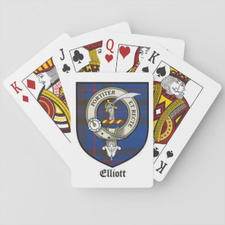 ELLIOTT Clan Playing Cards