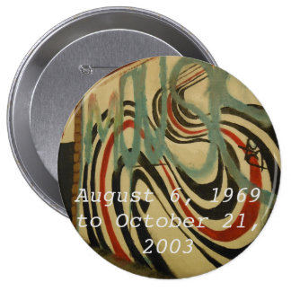elliott smith memorial wall 4 inch round button