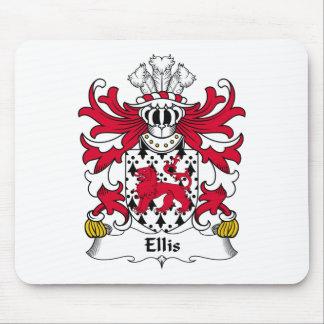 Ellis Family Crest Mouse Pad