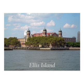 Ellis Island Postcard