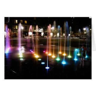 Ellis Square Fountain Card