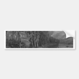 Ellisland Farm and River Nith Bumper Sticker