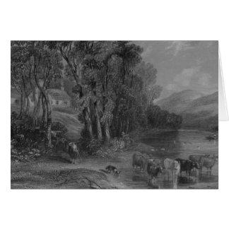 Ellisland Farm and River Nith Card