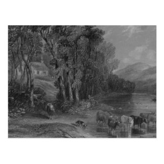 Ellisland Farm and River Nith Postcard