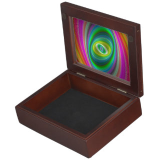 Ellliptical magic memory box