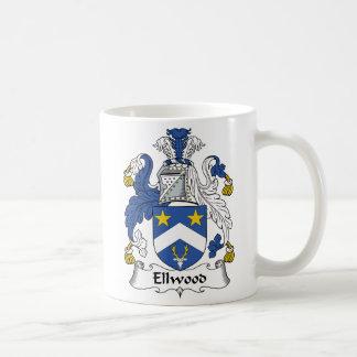 Ellwood Family Crest Coffee Mug