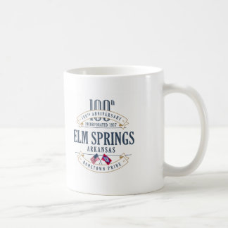 Elm Springs, Arkansas 100th Anniversary Mug