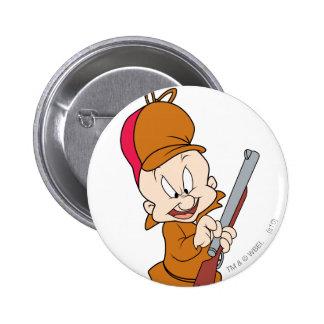 ELMER FUDD™ Ready to Hunt 2 Inch Round Button