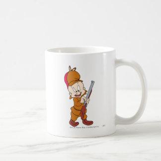 Elmer Fudd Ready to Hunt Classic White Coffee Mug