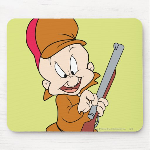 ELMER FUDD™ Ready to Hunt Mouse Pad
