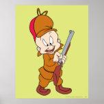 Elmer Fudd Ready to Hunt Poster