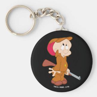 ELMER FUDD™ | Scared Pose Basic Round Button Keychain
