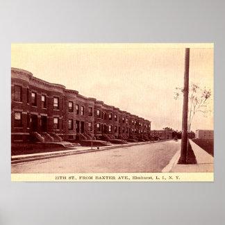 Elmhurst New York Circa 1900 Poster
