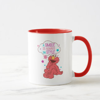 Elmo | A Smile is Always in Style Mug