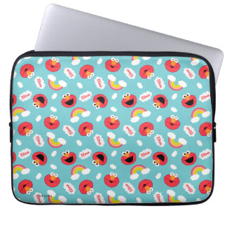 Elmo and Rainbows Pattern Laptop Computer Sleeve