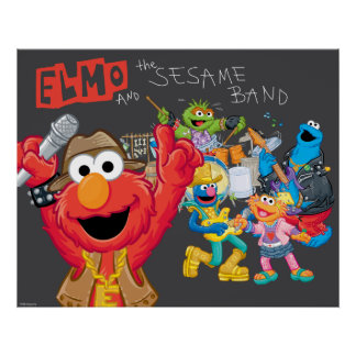 Elmo and the Sesame Band Poster