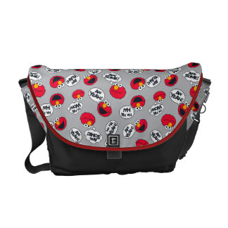 Elmo | Aw Yeah, Awesome Pattern Commuter Bag