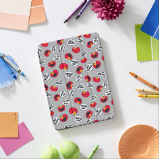Elmo | Aw Yeah, Awesome Pattern iPad Air Cover