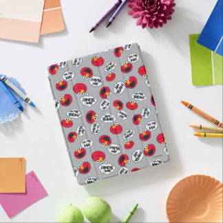 Elmo | Aw Yeah, Awesome Pattern iPad Cover