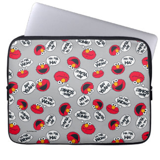 Elmo | Aw Yeah, Awesome Pattern Laptop Sleeve