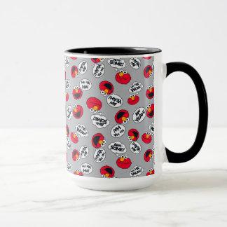Elmo | Aw Yeah, Awesome Pattern Mug