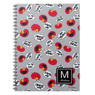 Elmo | Aw Yeah, Awesome Pattern Notebook